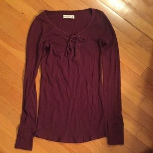 Abercrombie & Fitch long sleeve top